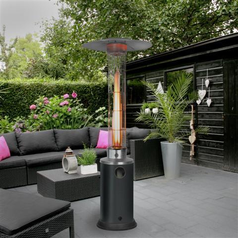 verhuur terrasheater flameheater. Black Bedroom Furniture Sets. Home Design Ideas