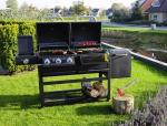 Grand Canyon Barbecue op gas en houtskool